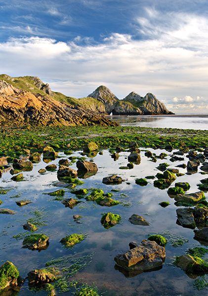 Three Cliffs Bay, Gower, Wales