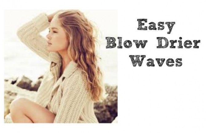 Easy Blowdrier Waves by Chelsea Crockett youtuber aka beautyliciousinsider