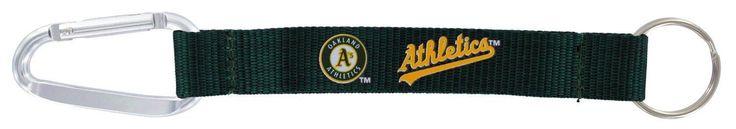 "Oakland Athletics 8"" Carabiner Lanyard Keychain"