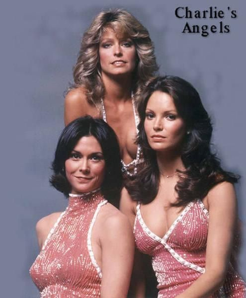 """Charlie's Angels"" TV Series, 1976 #charliesangels #70s #vintagefashion"