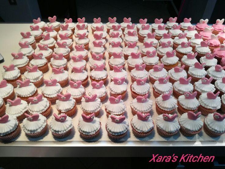 Ballerina cupcakes Xara's Kitchen