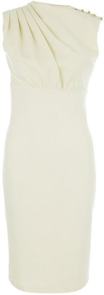 This style dress looks good on me. I have a small waist and balanced chest/hips.  TED BAKER LONDON Bridie Dress - Lyst