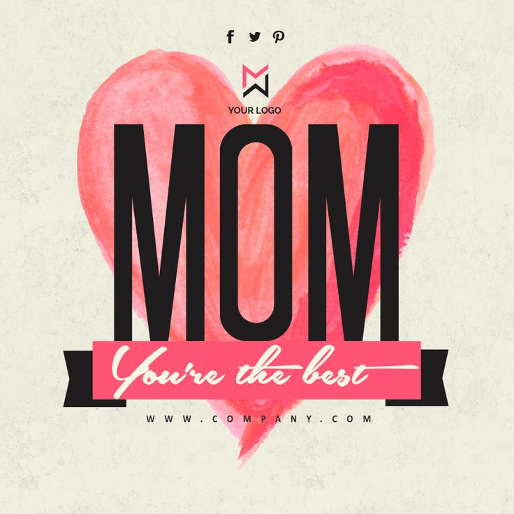 For all the mothers in their days, these banners are ideal for promos for your business #banners #design #template
