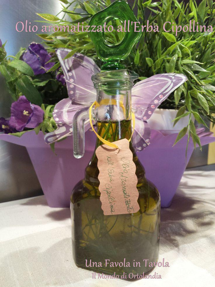 Olio aromatico all&8217;Erba Cipollina