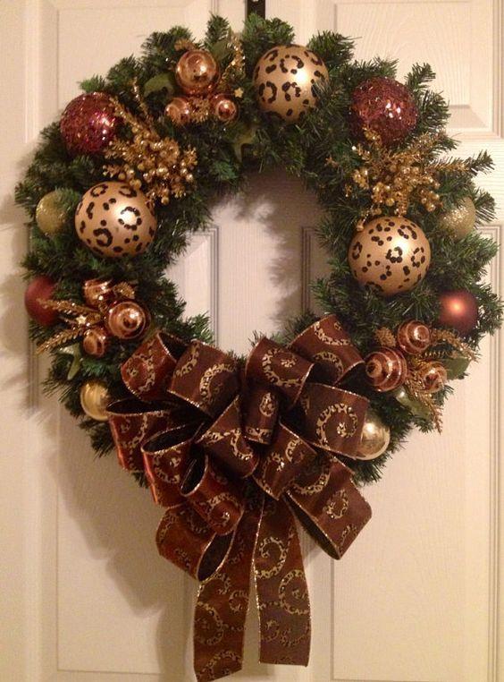 decoracion-navidena-2017-rojo-con-dorado (21) | Decoracion de interiores -interiorismo - Decoración - Decora tu casa Facil y Rapido, como un experto