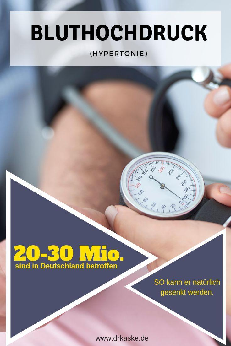 Bluthochdruck senken - Bluthochdruck, Blutdruckwerte..