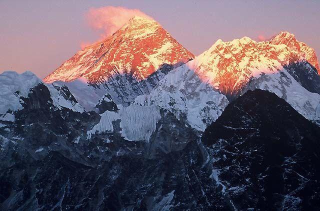 Trekking w rejonie Mount Everestu, Himalaje, Mount Everst 8848, NEPAL