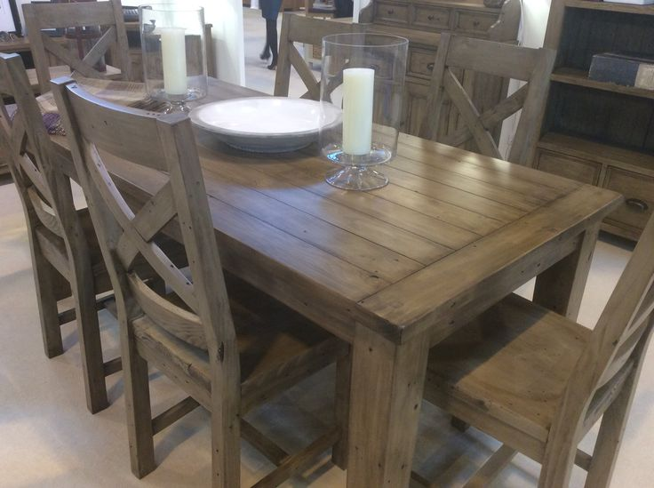 Old Irish reclaimed pine 180cm dining table...only $495
