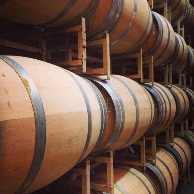 """Cakebread wine barrels... #winetasting #winery #california @cakebreadcellars"""
