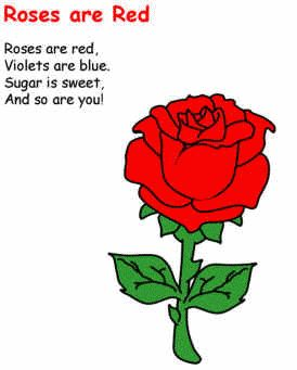 Roses Are Red « Song Wheel  A great poem to explore 6/8 rhythms and share the LOVE of Valentine's Day!!!