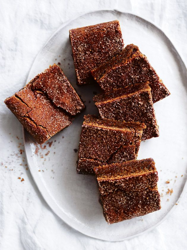 chewy chai slice with cinnamon sugar from donna hay magazine winter issue #87
