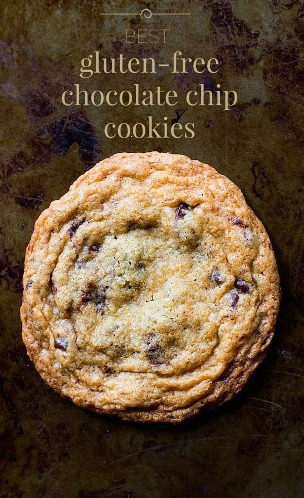 Best Gluten-Free Chocolate Chip Cookies | soft and chewy in the middle, buttery and crisp around the edges
