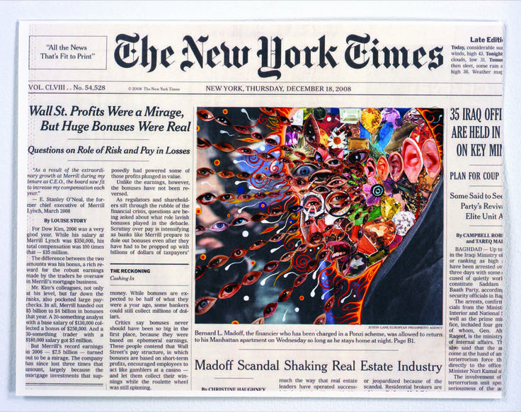 Creative Collages of the NY Times Front Pages – Fubiz Media