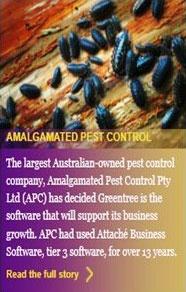 Bizlink customer Amalgamated Pest Control