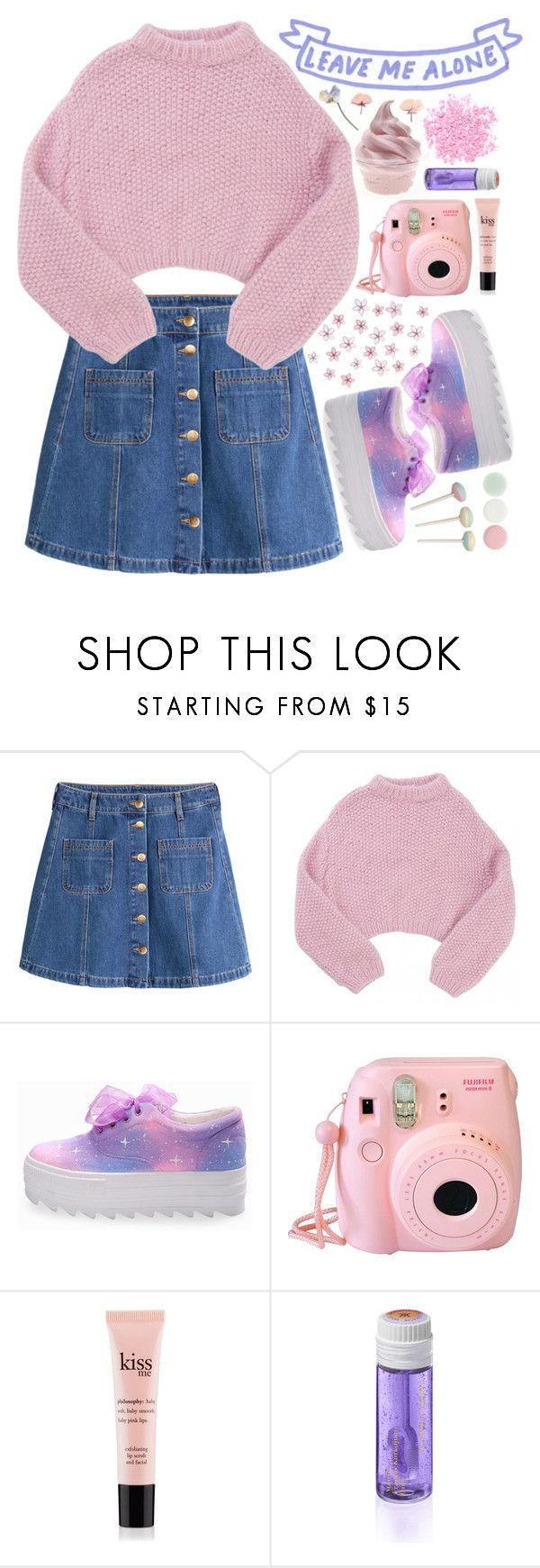 """//Dollhouse - Melanie Martinez\\"" by holographicbubble ❤ liked on Polyvore featuring H&M, Lala Berlin, philosophy, Maison Francis Kurkdjian, Nails Inc., women's clothing, women's fashion, women, female and woman"