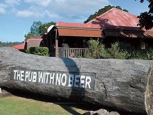 Pub with no beer !