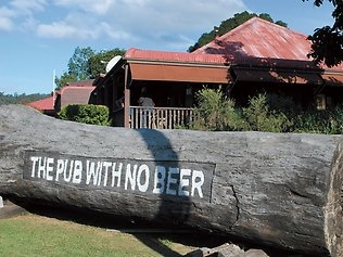 """""""The Pub with no beer"""" at Taylor's Arm. My early ancestors used to go there and apparently, their names are still in a book kept here."""