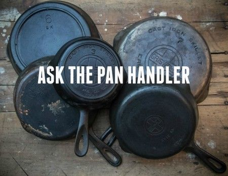 Ask The Pan Handler: Pattern Numbers and Letters on Vintage Skillets | The Pan Handler