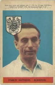 Stanley Matthews of Blackpool in 1960.
