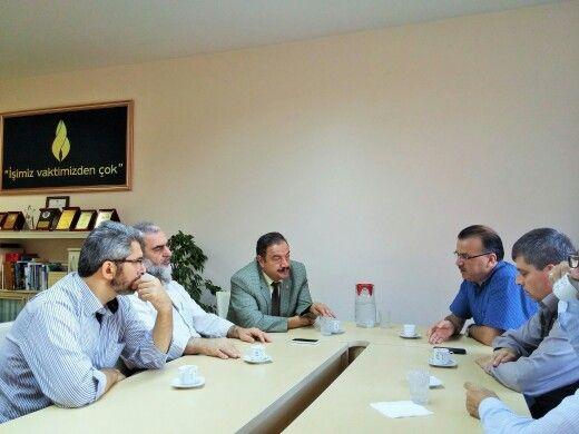 @SosyalDoku Vakfında, Prof.Dr.Refik Korkusuz hocamız ve Bayrampaşa kaymakamımız Hasan Göze beyin iştirakiyle, gündeme dair istişarelerde bulunduk.
