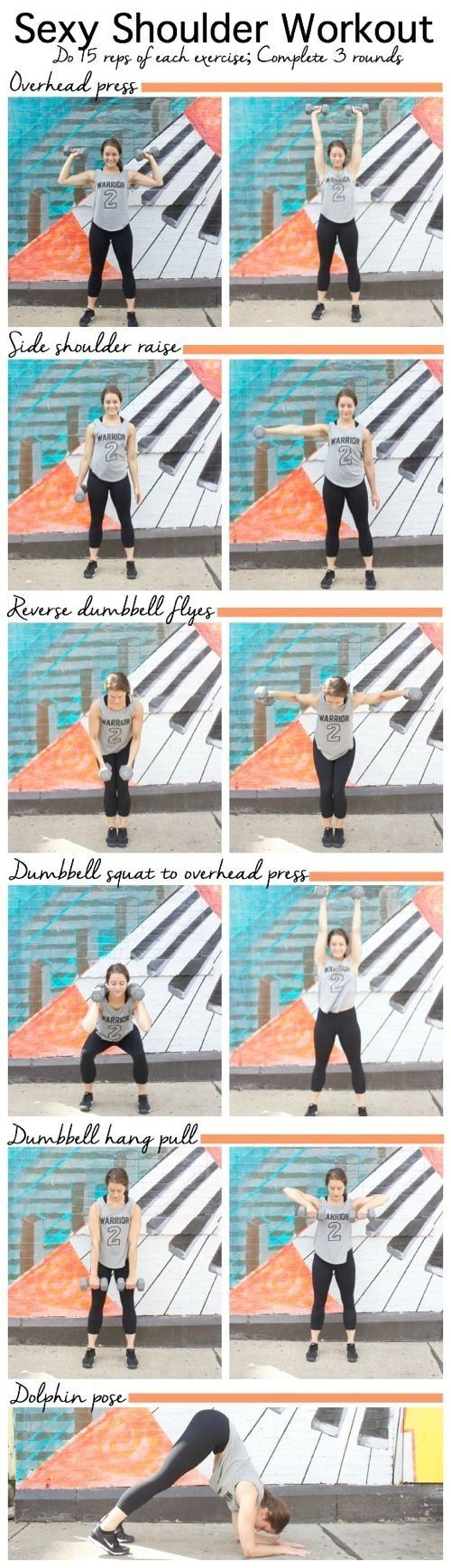 Sexy Shoulder Workout-sculpt your shoulders with this quick shoulder strengthening sequence #workout #fitness by lupita m