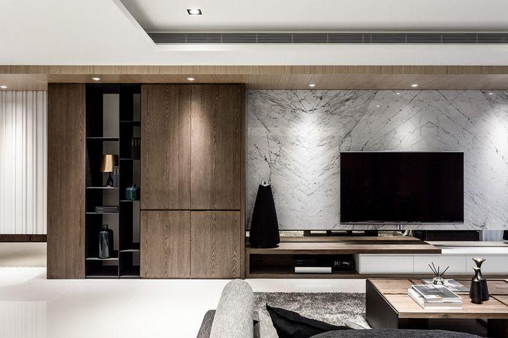 Lin residence on Behance