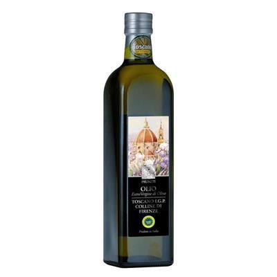 """PRUNETI COLLINE DI FIRENZE - Extra Virgin Olive Oil Indicazione Geografica Protetta I.G.P. – Toscano """"Colline di Firenze"""". 750 ml."""