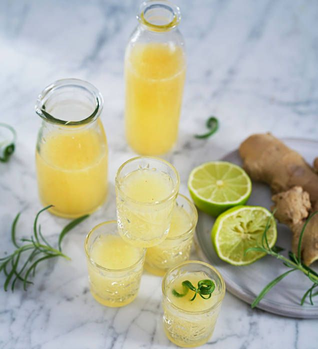 En härligt uppiggande och nyttig shot med ingefära, honung och kajennpeppar som känns värmande och stärkande.