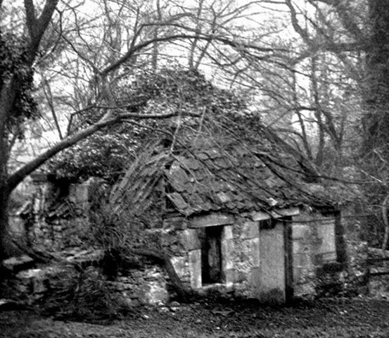Kinneil House, Bo'ness ,Scotland ,U.K James Watts cottage-with roof around 100 years ago. No one but we ghosts live here.........