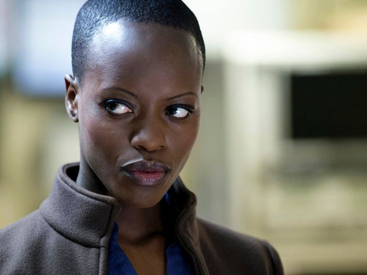 FLorence Kasumba She had one line but she was awesome as a Dora Milage, can't wait for Black Panther