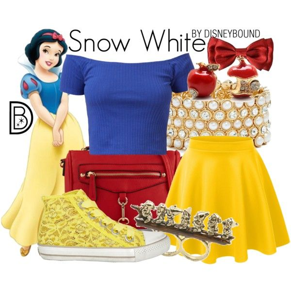 yellow skirt, cobalt blue v-neck sweater, red and white striped flats or red flip flops, red skinny belt