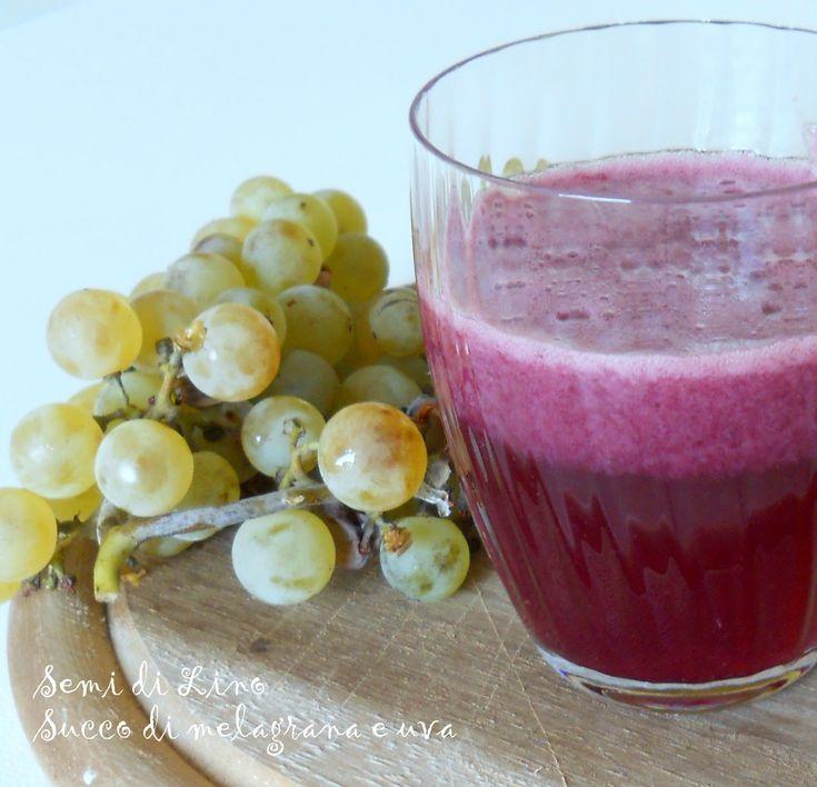Succo di melagrana e uva fragola - Ricetta antiossidante