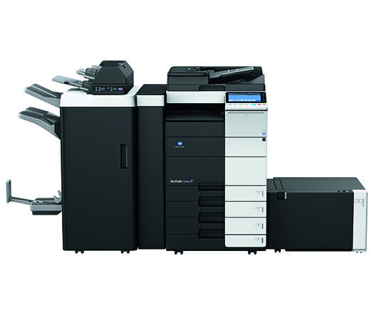 We're happy to announce the launch of #KonicaMinolta #bizhub C554e/C454e Series of Color Multifunctional Products! #countonkonicaminolta #printers #business #solutions