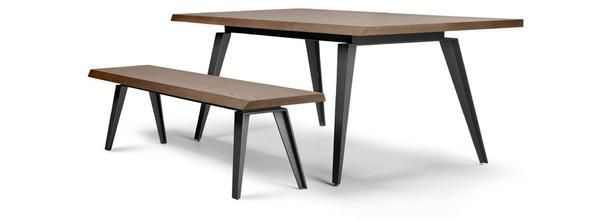 Dining table Metalville, by Homad®