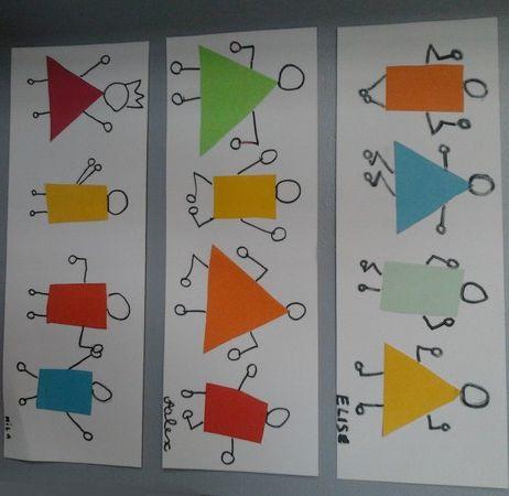 Bonhommes géométriques