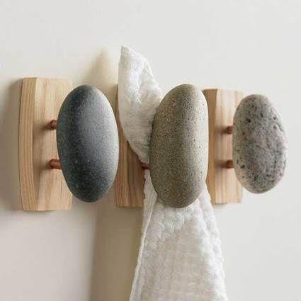 Piedra y madera en el baño - Decoracion - EstiloyDeco