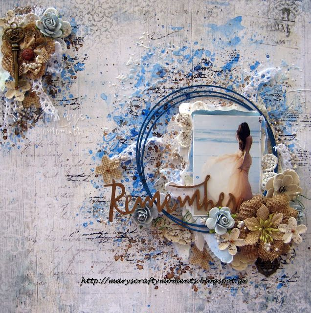 Mary's Crafty Moments: ''Remember'' - DT layout for Scrap Africa