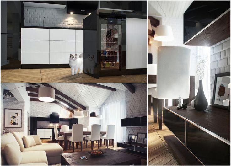 16 best mansard interior design images on pinterest home for Mansard room