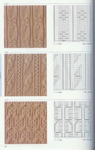 169 日本棒针花样编织250例 - 路过的精灵6 - Álbumes web de Picasa