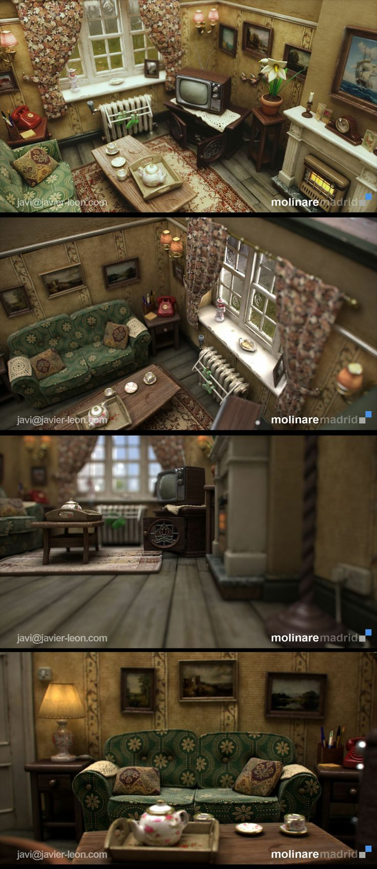 88 best Stop-motion puppet images on Pinterest | Doll houses ...
