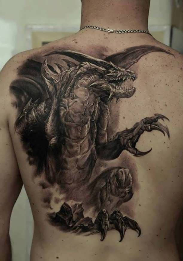 If you want to make Tattoo 3D dragon on back yourself and you are looking for the suitable design or just interested in tattoo, then this site is for you.