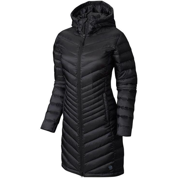 Mountain Hardwear Nitrous Hooded Down Parka Black