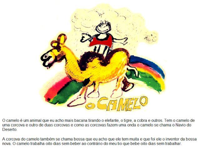 InSaNiDaDe ¯\_(ツ)_/¯  R-A-C-I-O-N-A-L :: O CAMELO E O DROMEDÁRIO...