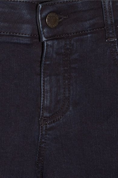 Stella McCartney - Mid-rise Skinny Jeans - Dark denim -