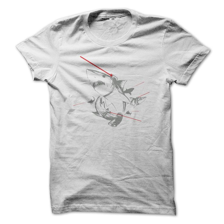 Sharks With Lasers - Guys Tee $22.00