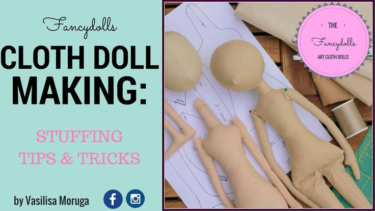 Cloth Doll Making: doll's body stuffing. Stuffing Tips and Tricks--Stoffpuppe Making: Puppe Körper Füllung. Füllung