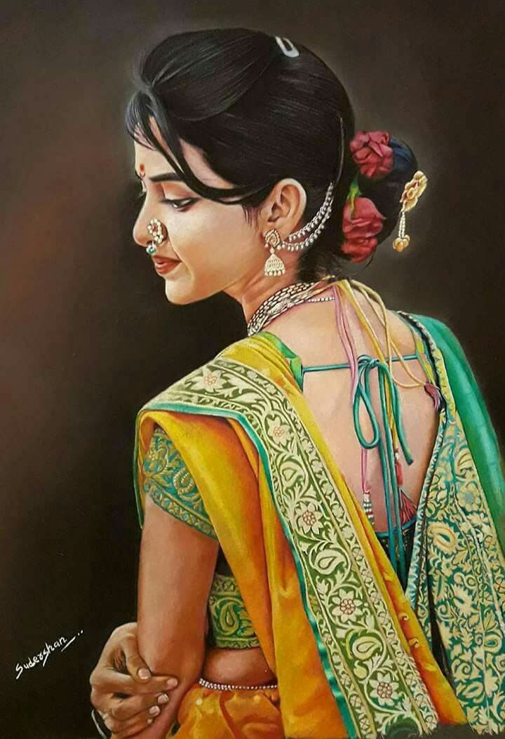 drawing-of-sexy-indian-girls