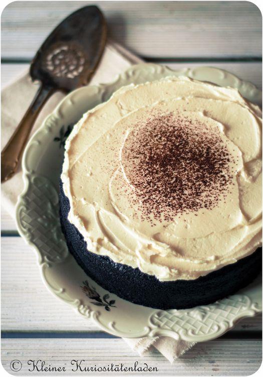 Schokoladen-Guinness-Kuchen