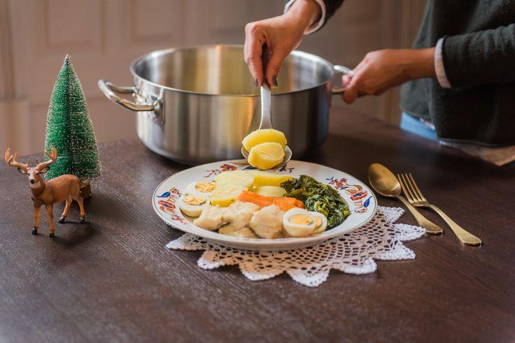 Bacalhau com todos Caçarola GrandHotel - Silampos #silampos #receitas #natal #recipes #christmas