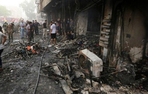 Iraq mourns 119 killed in Baghdad car bombing.